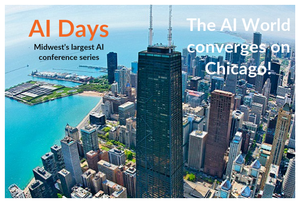 Largest Applied AI event series in the Midwest USA | www,chicagoaidays.com